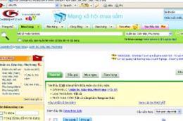 Giao diện của trang www.chodientu.vn