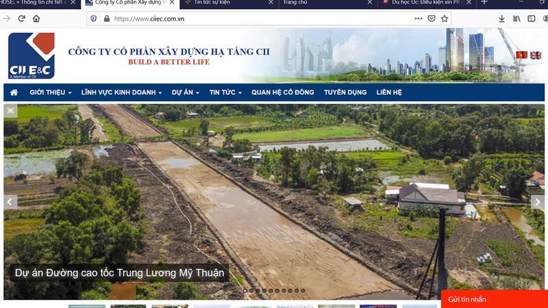 Dự án Cao tốc Trung Lương Mỹ Thuận.