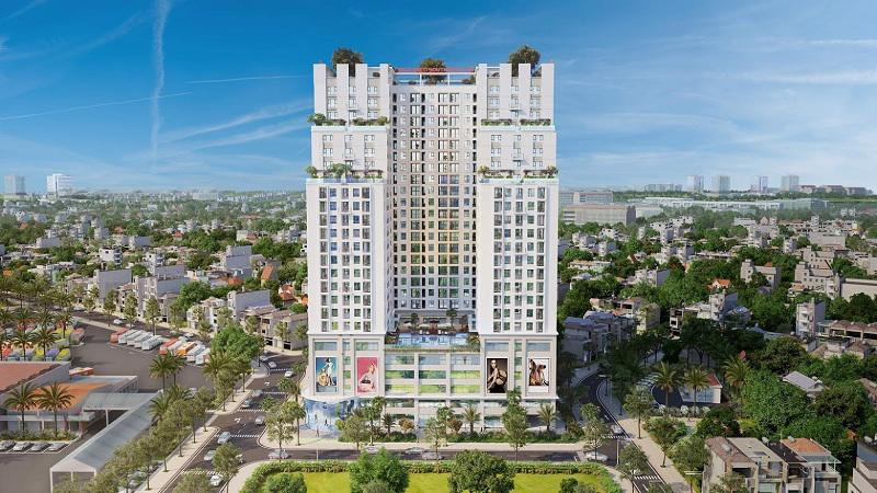 Geleximco Southern Star là dự án chung cư nổi bật trên thị trường bất động sản Nam Hà Nội.