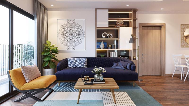 Thiết kế căn hộ hiện đại, thanh lịch tại Geleximco Southern Star.