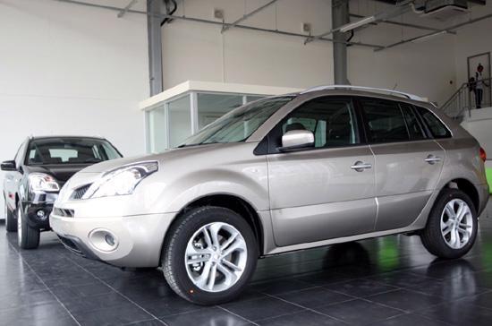 Mẫu xe Koleos trưng bày tại đại lý Renault Hà Nội - Ảnh: Việt Hưng.