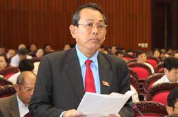Chánh án Tòa án Nhân dân Tối cao Trương Hòa Bình.