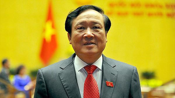 Chánh án Toà án Nhân dân Tối cao Nguyễn Hoà Bình - Ảnh: VOV.