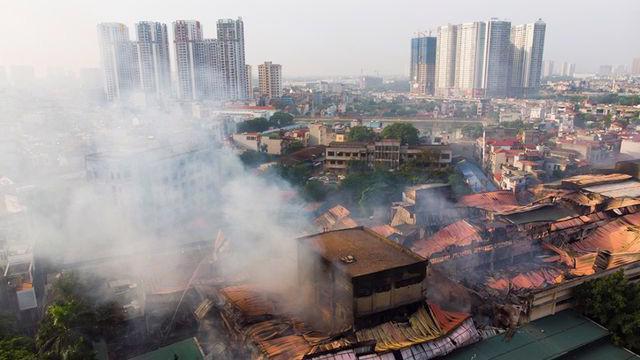 Sự cố cháy nổ tại Công ty Cổ phần Bóng đèn Phích nước Rạng Đông.
