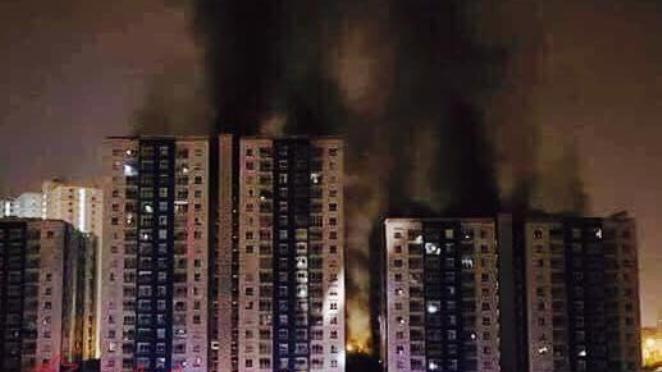 Vụ cháy đã khiến 13 người thiệt mạng, 28 người thương vong.
