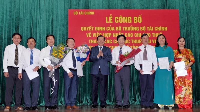 Sau Quảng Ninh, 5 tỉnh thành khác là Hải Dương, Yên Bái, Quảng Ngãi, Lâm Đồng, Cà Mau cũng sẽ triển khai sáp nhập các chi cục thuế.