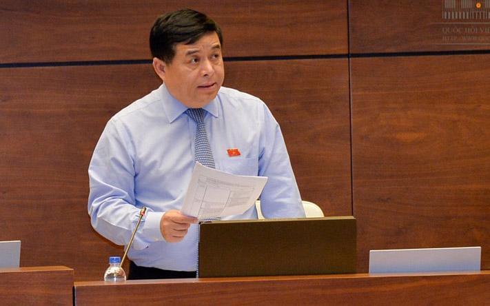 Bộ trưởng Bộ Kế hoạch và Đầu tư Nguyễn Chí Dũng sẽ trả lời chất vấn trước Quốc hội từ 16h35 chiều 14/6.