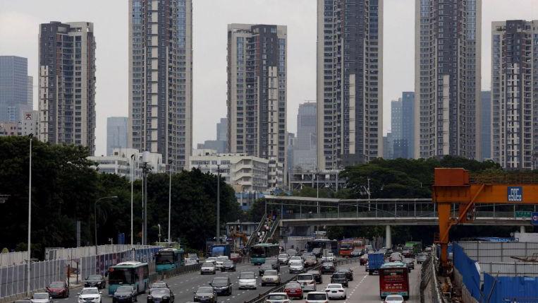 Gá nhà tại các dự án nổi tiếng đã hoàn thành ở Thượng Hải tăng hơn 30% trong năm ngoái - Ảnh: AP