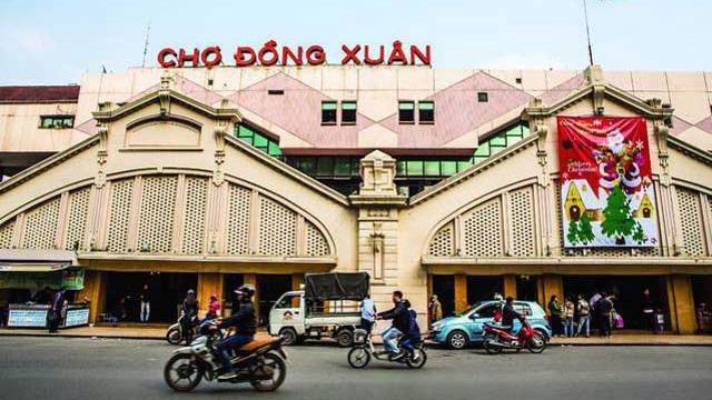 Chợ Đồng Xuân cũng lọt danh sách tụ điểm nóng kinh doanh hàng giả, hàng nhái