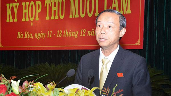 Tân Chủ tịch UBND tỉnh Bà Rịa - Vũng Tàu từng là Trưởng ban Nội chính tỉnh, Bí thư Huyện ủy Xuyên Mộc.
