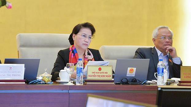 Chủ tich Quốc hội Nguyễn Thị Kim Ngân khẳng định sự cần thiết phải ban hành luật cho ba đặc khu.