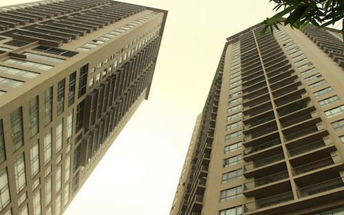 Chung cư Sky City 88 Láng Hạ, một trong bốn dự án bị thanh tra đợt này.<br>