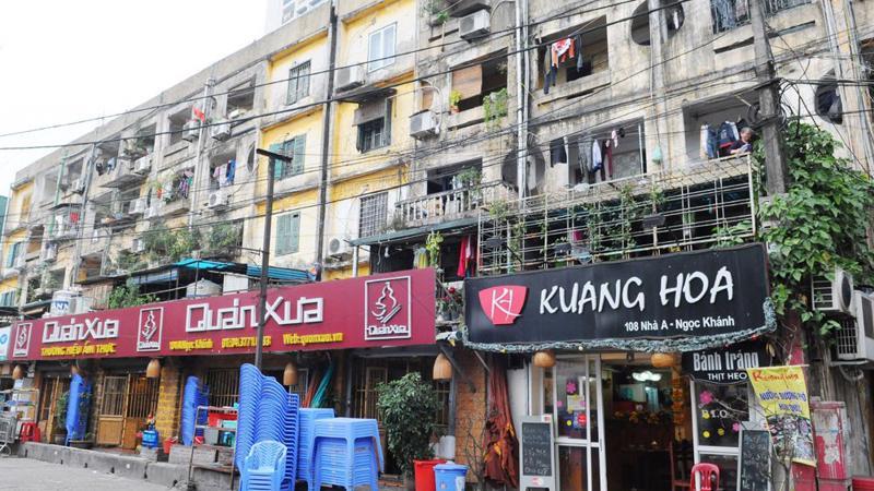 Thành phố Hà Nội hiện có 1.579 nhà chung cư cũ được xây dựng từ năm 1960 đến 1992. Trong đó có gần 1.000 chung cư thuộc khu vực hạn chế phát triển.