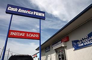 Một tiệm cầm đồ của công ty Cash America ở bang Texas.