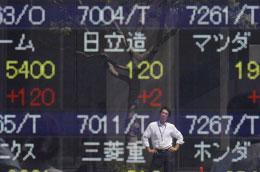 Tuần này đã là tuần tăng thứ 4 liên tục của chứng khoán châu Á. Tuy nhiên, giới đầu tư tại khu vực vẫn đang duy trì quan điểm thận trọng về triển vọng của kinh tế toàn cầu - Ảnh: Reuters.