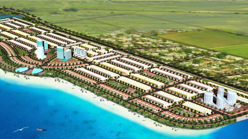 Dự án Khu đô thị lấn biển Tây Bắc Thành phố Rạch Giá với quy mô gần 100 ha, tổng vốn đầu tư 3.500 tỷ đồng