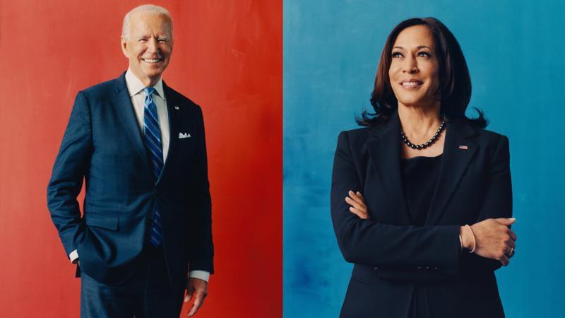 Ông Joe Biden và bà Kamala Harris - tổng thống đắc cử và phó tổng thống đắc của Mỹ - Ảnh: Time