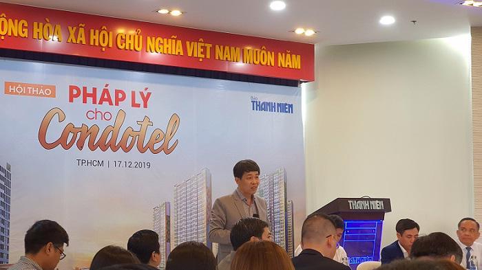 Ông Mai Văn Phấn, Phó Tổng Cục trưởng Tổng Cục Quản lý đất đai, Bộ Tài nguyên và Môi trường