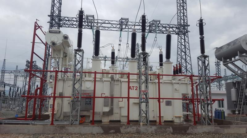 Công trình nâng công suất trạm 220 kV Tháp Chàm (tại Ninh Thuận) mới hoàn thành và đưa vào vận hành vào cuối tháng 10/2019