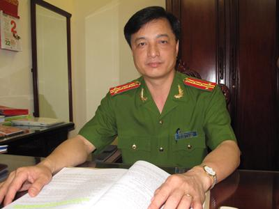 Đại tá Nguyễn Duy Ngọc từng là Trưởng phòng Cảnh sát giao thông Công an Hà Nội.<br>