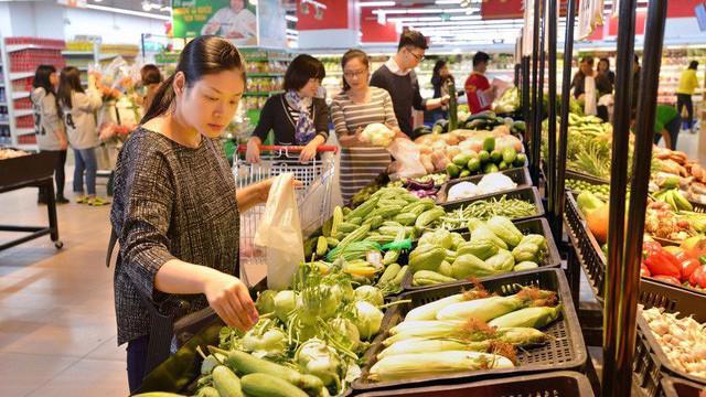 Trong ngành bán lẻ, mặt hàng lương thực, thực phẩm có mức tăng trưởng cao nhất với 12,7%