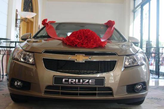 Mẫu Chevrolet Cruze do GM Daewoo lắp ráp - Ảnh: Bobi.