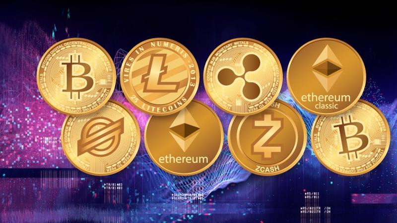 Một số loại tiền ảo lớn trên thị trường - Ảnh: Bitcoin.com