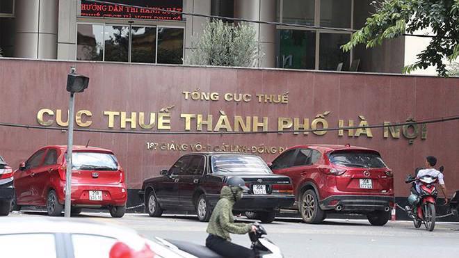 Hiện Cục Thuế Hà Nội có 24 phòng thuộc Văn phòng cục, 30 chi cục thuế quận, huyện, thị xã, với 315 đội thuế.
