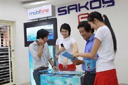 Khách hàng sử dụng dịch vụ 3G của MobiFone.