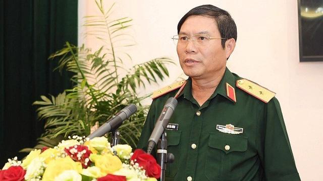 Tân Thứ trưởng Bộ Quốc phòng Nguyễn Tân Cương.