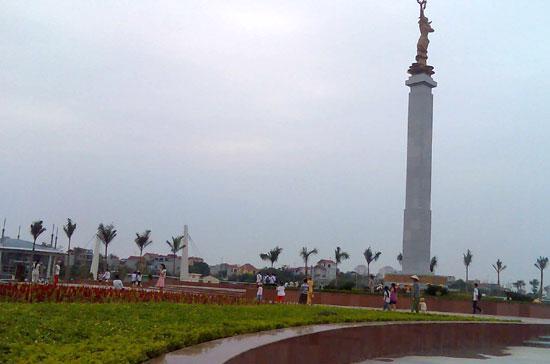 Công viên Hòa Bình - một trong những công viên mới xây dựng tại Hà Nội.