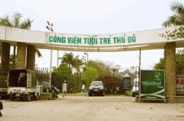 Dự án cải tạo Công viên Tuổi trẻ đã chính thức được loại khỏi danh mục các dự án chào mừng đại lễ 1.000 năm Thăng Long - Hà Nội.