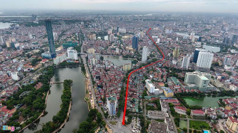 Sẽ có khoảng hơn 2.000 hộ dân nằm trong diện giải phóng mặt bằng khi dự án Hoàng Cầu - Voi Phục thi công.