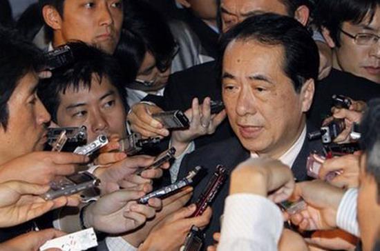 Ông Naoto Kan được coi là ứng cử viên sáng giá nhất cho chiếc ghế thủ tướng - Ảnh: AP.