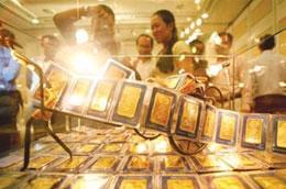 """Tình trạng """"mỏi tay điều chỉnh giá vàng"""" hiện không còn nữa, giá vàng được giữ khá ổn định."""