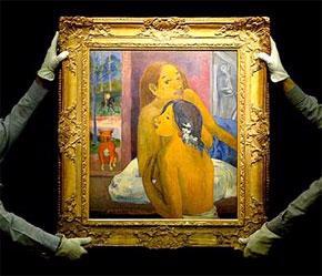 Một tác phẩm được đấu giá tại Sotheby's.