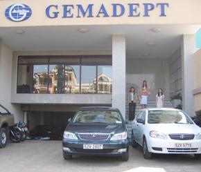 Một văn phòng của Gemadept tại Tp.HCM.
