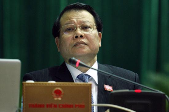 Phó thủ tướng Vũ Văn Ninh được cử làm Trưởng ban Chỉ đạo tái cơ cấu Vinashin.