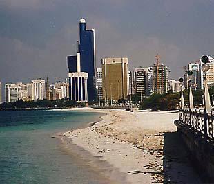 Kinh tế Trung Đông đã có sự bùng nổ rõ rệt, nhất là từ năm 2007. Trong ảnh là một thành phố ven biển ở Saudi Arabia.
