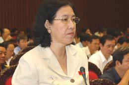 """Đại biểu Nguyễn Thị Bạch Mai muốn Quốc hội """"khó tính"""" hơn."""