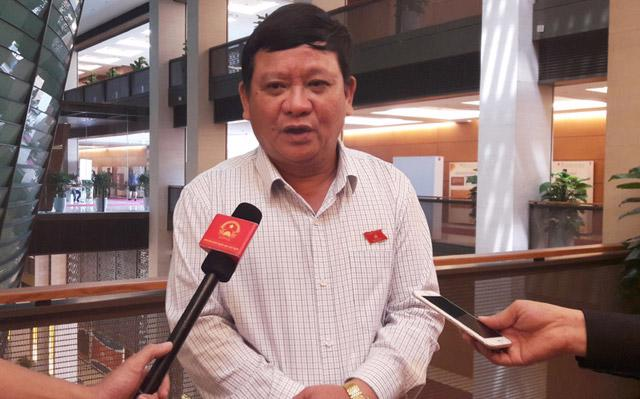Thiếu tướng Đặng Ngọc Nghĩa, Uỷ viên Thường trực Uỷ ban Quốc phòng - an ninh của Quốc hội.
