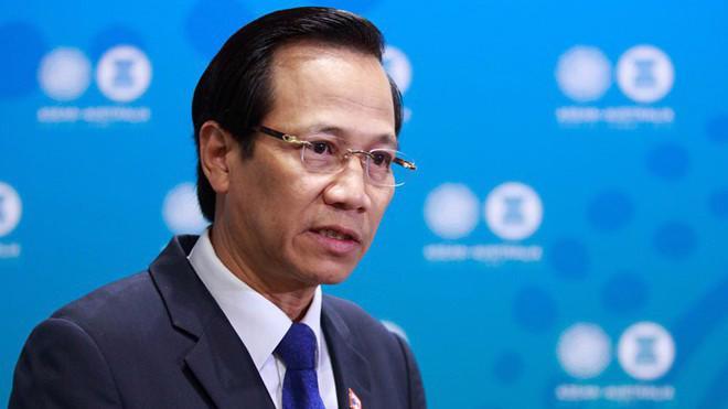 Ông Đào Ngọc Dung, Bộ trưởng Bộ Lao động, Thương binh và Xã hội - Ảnh: zing.