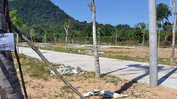 Tình trạng chuyển nhượng, san lấp, phân lô, xây dựng hạ tầng và nhà ở trên đất nông nghiệp diễn ra phức tạp tại Phú Quốc.