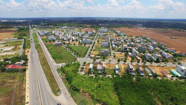 80% giao dịch bất động sản miền Bắc chủ yếu là Hà Nội do đó, dư địa cho các tỉnh lân cận phần lớn sẽ còn tăng. Ảnh minh họa
