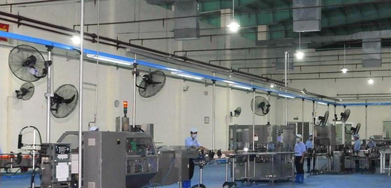 Dây chuyền sản xuất nước yến sào cao cấp Sanest công nghệ Châu Âu.