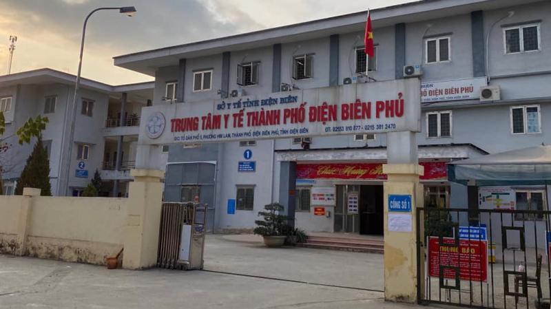 Trung tâm Y tế Tp Điện Biên Phủ được lựa chọn làm bệnh viện dã chiến điều trị bệnh nhân Covid-19. Ảnh - Bộ Y tế.