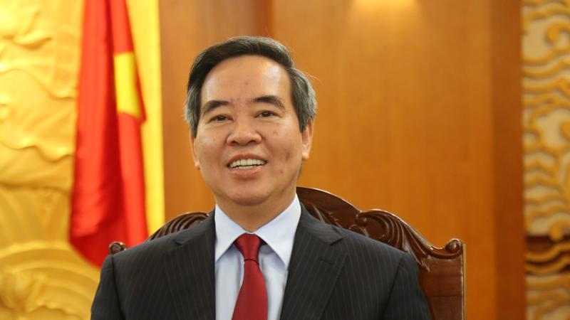 Ông Nguyễn Văn Bình, Ủy viên Bộ Chính trị, Bí thư Trung ương Đảng, Trưởng Ban Kinh tế trung ương, Trưởng Ban Chỉ đạo Cuộc vận động.