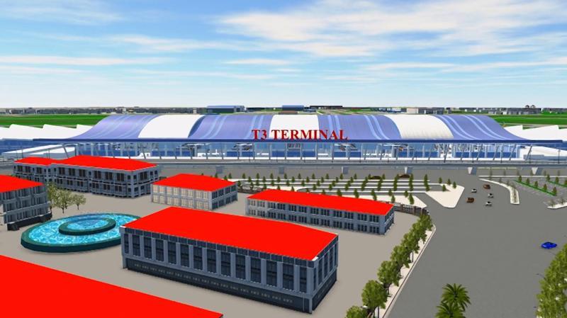 Đối với Dự án đầu tư xây dựng Nhà ga hành khách T3 - Cảng hàng không quốc tế Tân Sơn Nhất, Thủ tướng Chính phủ đã quyết định phê duyệt chủ trương đầu tư Dự án tại Quyết định số 657/QĐ-TTg ngày 19/5/2020, với mục tiêu phân chia sản lượng khai thác giữa Cảng hàng không Long Thành và Cảng hàng không Tân Sơn Nhất, giảm tải cho nhà ga T1.