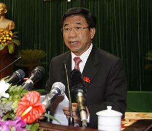 Ông Hà Văn Hiền, Chủ nhiệm Ủy ban Kinh tế của Quốc hội.