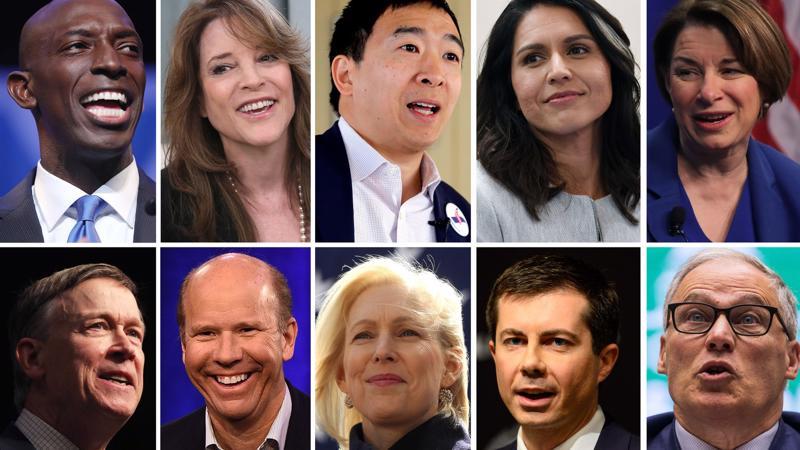 Một số ứng viên đã tuyên bố ra tranh cử tổng thống Mỹ năm 2020 - Ảnh: Fortune.